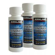 Minoxidil Kirkland 5% - Tratamento para 3 Meses