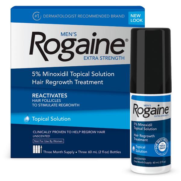 Minoxidil Rogaine 5% – Tratamento para 3 Meses