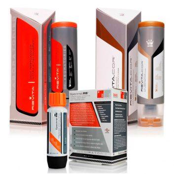 Kit Antiqueda com Shampoo Revita + Condicionador Revita Cor + Loção Spectral RS