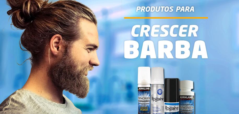 Produtos para crescer barba mais uniforme e rápido