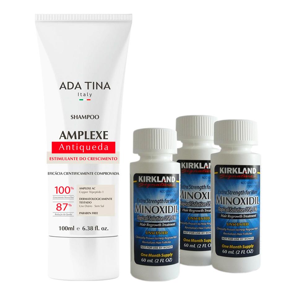 Kit Minoxidil Shampoo Amplexe